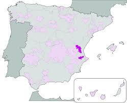 Valencia Spain Map by Valencia Do Wikipedia