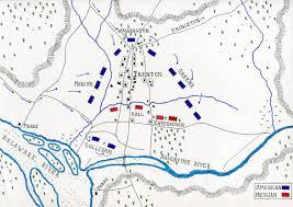 Washington Ferry Map Battle Of Trenton