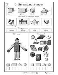 math worksheets grade 5 3d shapes 3d shapes worksheets 2nd