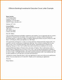 personal banker cover letter sample cover letter examples for