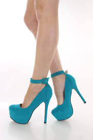 turquoise faux suede platform heels heel shoes online store sales