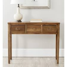 Sofa Table Amazon Com Safavieh American Home Collection Cindy Oak Console