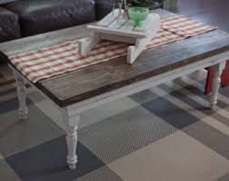 country style end table ls rustic coffee table etsy