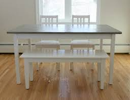 concrete wood table top furniture good looking diy concrete dining table top and set