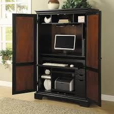Cherry Computer Armoire Desk Armoire Cherry Wood All Home Ideas And Decor With Computer