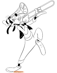 goofy coloring pages 2 disney coloring book
