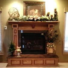 fireplace alluring decorate a fireplace mantel for you decorate