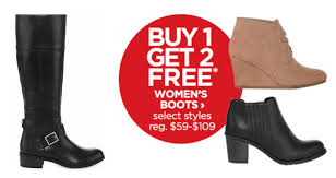 womens boots jcpenney jcpenney s boots buy 1 get 2 free simplee thrifty