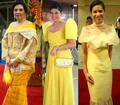 the terno and its u201csnobbish u201d butterfly sleeves philippines