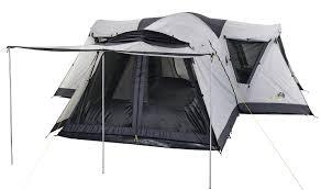 oztrail villa 9 dome kangaroo tent city and bbqs