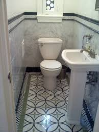 waterjet powder room eclectic powder room other by
