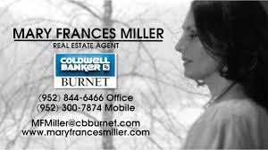 mary frances miller real estate agent coldwell banker burnet in