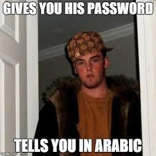 Arabic Meme - scumbag steve meme imgflip