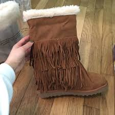 ugg sale dates ugg sale brand madden fringe boot from s closet