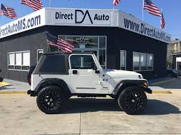 white jeep 4 door used jeep wrangler under 13 000 for sale used cars on