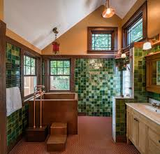arts and crafts bathroom design bathroom craftsman with vaulted