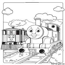 202 coloriages thomas le train images thomas