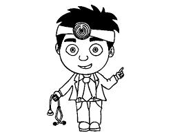 doctor coloring coloringcrew