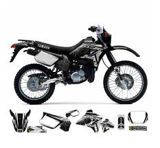 yamaha dt 125 r factory graphics series tmx graphics