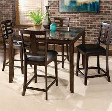 counter high dining room sets standard furniture bella 5 piece counter height dining room set
