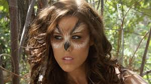 diy owl halloween costume halloween owl makeup tutorial youtube
