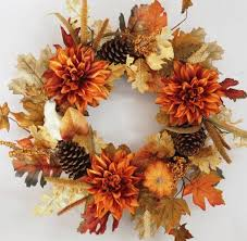 the prettiest fall wreaths made from dried flowers
