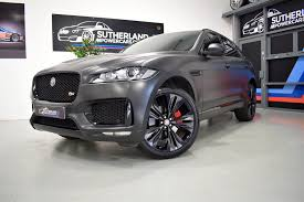 jaguar f pace black used 2016 jaguar f pace v6 s awd for sale in north somerset