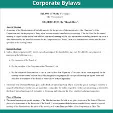 bylaws sample corporate sample bylaw amendment selimtd