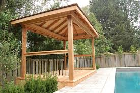 pool cabana ideas cedar poolside cabana pool toronto by david jagt carpentry
