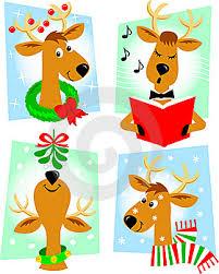 imagenes animadas de renos de navidad ilustración 16771324 dibujos animados de reno eps autor