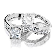 cheap white gold wedding rings white gold wedding rings for women online get cheap 9k white gold