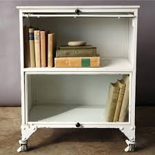 Metal Lawyers Bookcase Barrister Bookcase Cured Oak Four Door Barrister Bookcase