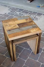 Diy Pallet Wood Distressed Table Computer Desk 101 Pallets by 213 Best Reclaimed Wood Images On Pinterest Diy Beams And Cafes