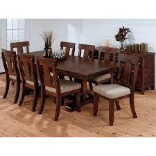 jofran urban lodge 9 piece dining table set hayneedle