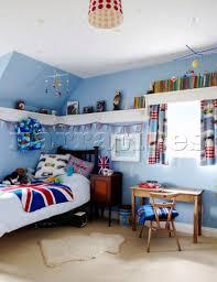 boys light blue tie bd065 26 light blue boy s room with union jack bedspr narratives