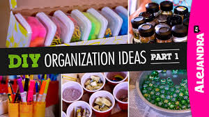 diy organization ideas part 1 youtube