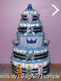 baby boy diaper cakes boy prince diaper cake