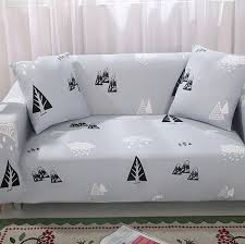 Sofa Slipcover Pattern by Compare Prices On Grey Sofa Slipcover Online Shopping Buy Low