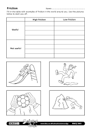 bbc schools science clips friction worksheet 3 6 science