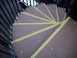 Non Slip Nosing Stairs by Anti Slip Spiral Stair Treads Sure Grip Non Slip Grp Systems