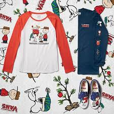 peanuts christmas t shirt vans x peanuts collection