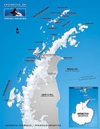 Antartica Map Antarctic Circle Crossings Tours U0026 Info Swoop Antarctica