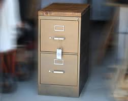 How To Paint A Metal File Cabinet Refinished 3 Drawer Metal Filing Cabinet 30 36