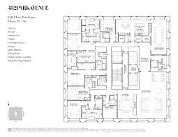 6 Bedroom Floor Plans Moneymaking Machines 1 432 Park Avenue Misfits U0027 Architecture