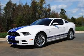 white mustang blue stripes graphics mustang blue rocker stripes w mustang