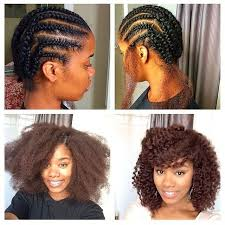 natural crochet hair natural hair cute crochet styles classycurlies