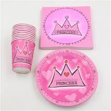 online get cheap birthday princess crown paper napkin aliexpress
