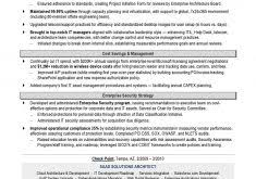 It Manager Sample Resume by Picturesque Design Ideas Sample Resume For Teachers 10 Teacher