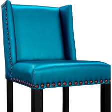 denver stool blue tov furniture modern manhattan