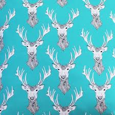 Upholstery Fabric For Curtains Stag Fabric Fabric By The Metre Upholstery Fabric Curtain